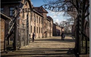 Auschwitz I Entrée arbeit macht frei
