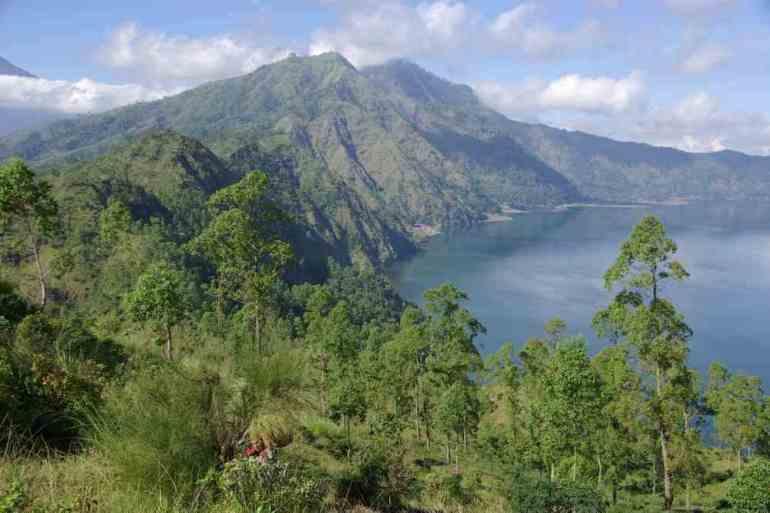 Bali caldeira Batur