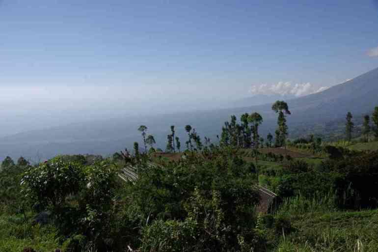 Bali mer depuis Rinjani