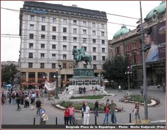 Belgrade place de la Republique