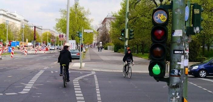 Berlin feux de circulation