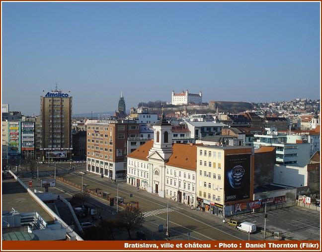 Bratislava ville chateau