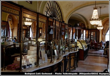 Cafe Gerbeaud Budapest Patisserie