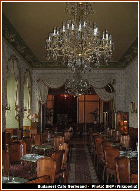 Cafe Gerbeaud Budapest Salle
