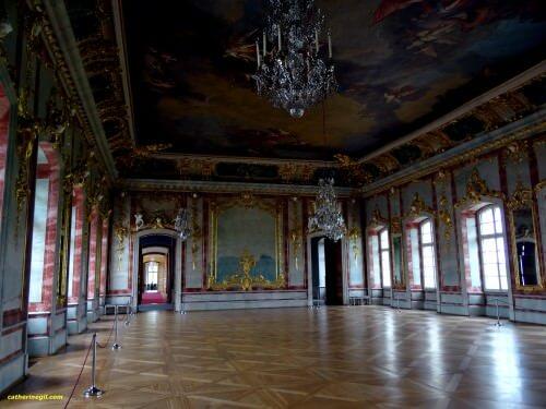 Château Rundales Pils, salle d'or