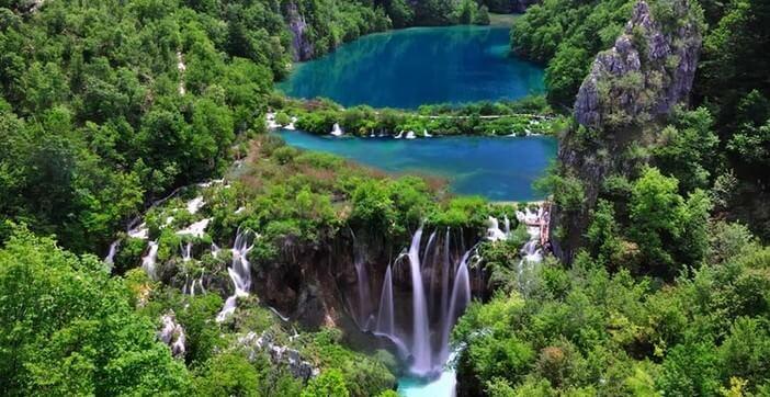 chutes plitvice croatie