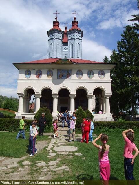 ciolanu monnastere orthodoxe roumain