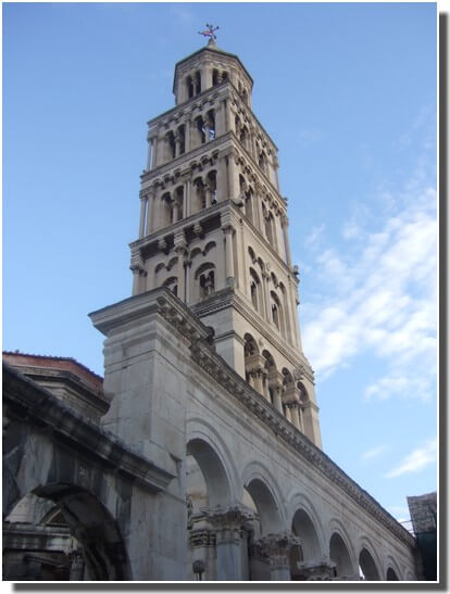 Clocher de la cathédrale de Split