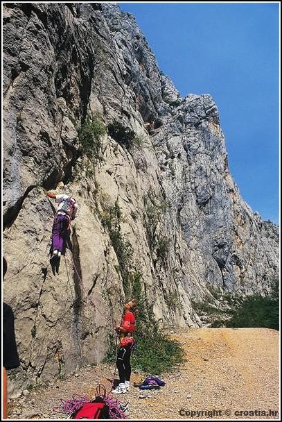 Escalade parc national paklenica