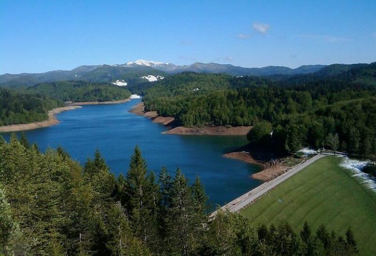 Lac Lokve jezero dans le Kvarner