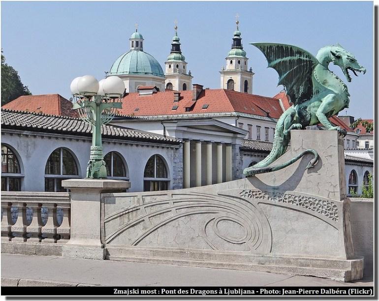Ljubljana Pont des dragons