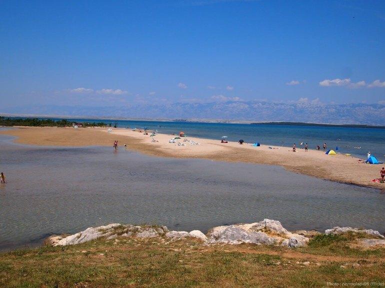 Ninska laguna lagune de Nin