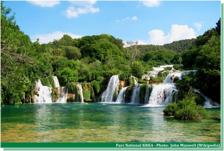 Parc national Krka Croatie