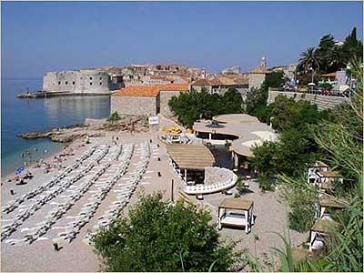 Plage Banje Dubrovnik