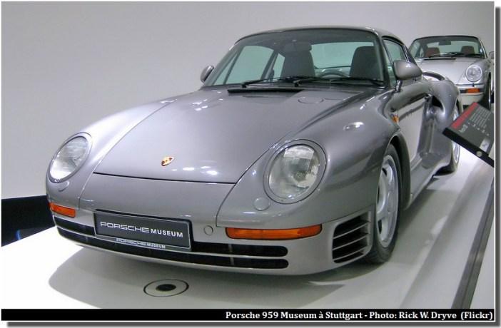 Porsche 959 Porsche Museum Stuttgart