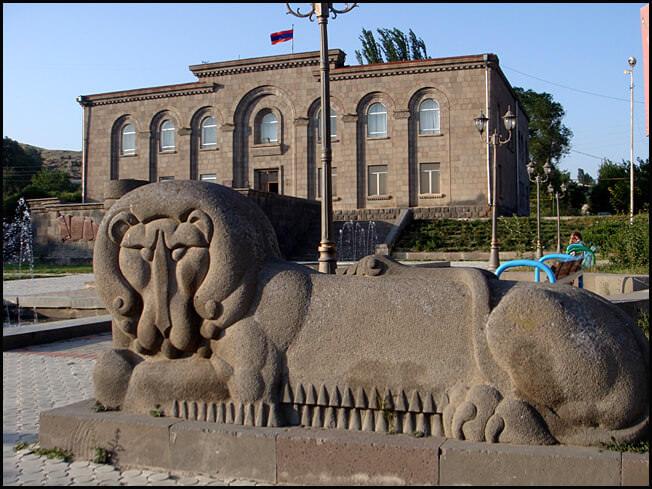 Sissian en Arménie maison du peuple