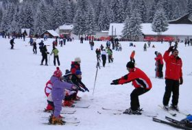 Ski sur les pistes de Ponaia Brasov