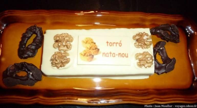 Tourron chantilly noix