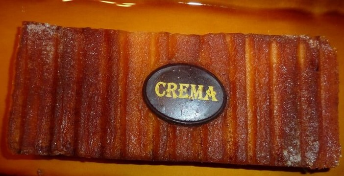 Tourron de crema catalana La Palma Barcelone Clot