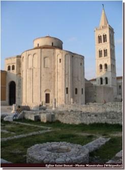 Zadar eglise saint donat forum romain