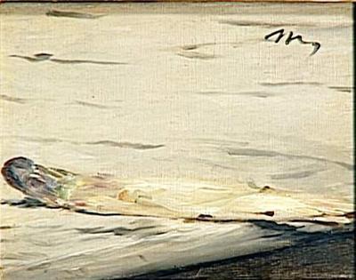 asperge Manet Musée d'Orsay Paris
