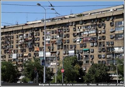 belgrade immeuble communiste