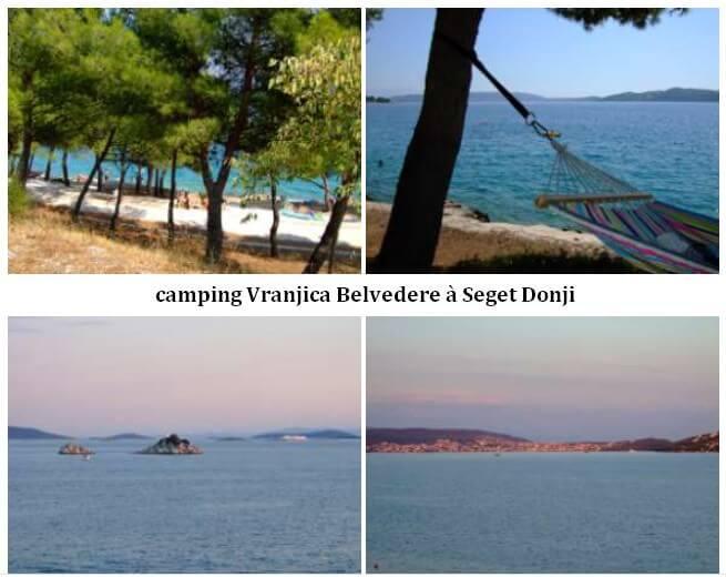 camping Vranjica Belvedere à Seget Donji
