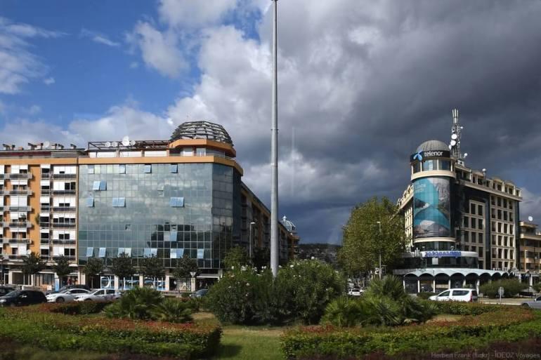 centre moderne de podgorica capitale administrative du montenegro