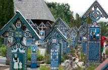 cimetière joyeux en Roumanie