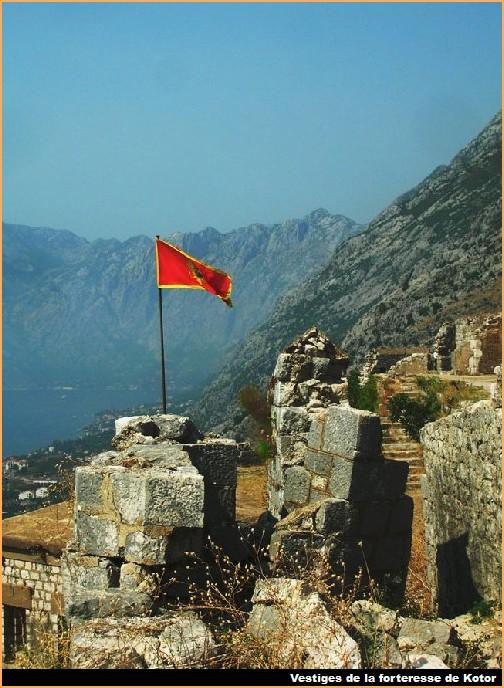 forteresse kotor