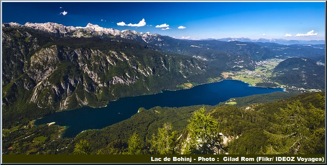 lac de Bohinj Slovenie