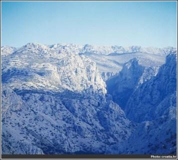montagnes parc national Paklenica