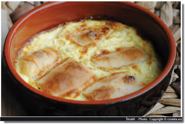 strukli cuisine croate