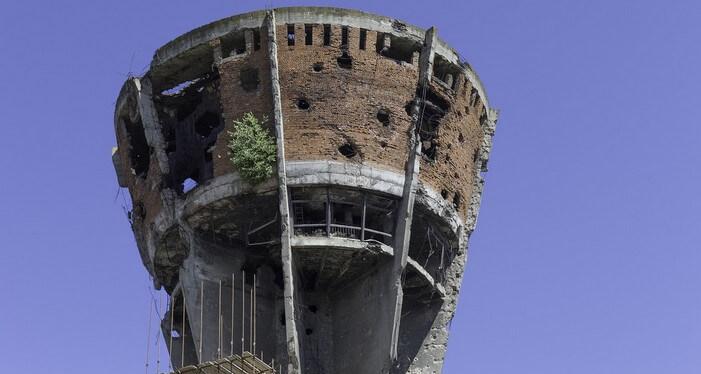 vukovar symbole de la guerre d'indépendance de croatie