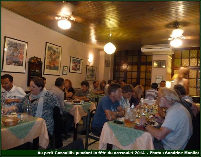 Au petit gazouillis restaurant castelnaudary salle