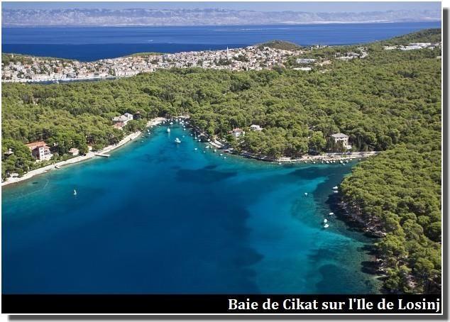 Losinj Baie de Cikat