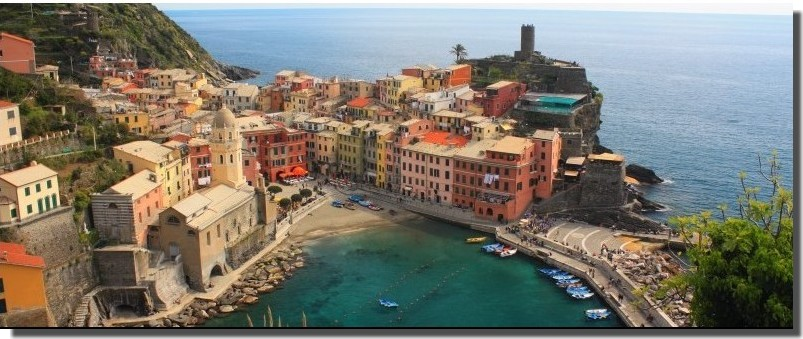 Cinque Terre, la Riviera Ligure du Levant (Voyage Italie) 1