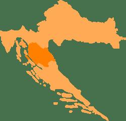Carte croatie lika senj