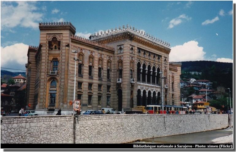 Sarajevo Bibliotheque nationale