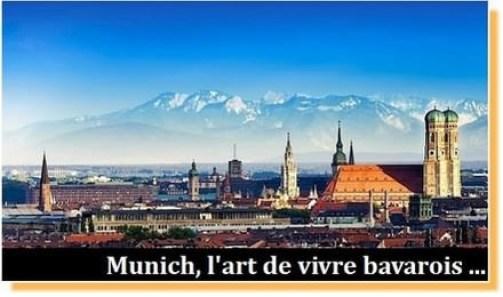 visiter Munich en Bavière