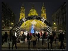 Basilique Saint Etienne Noel Budapest