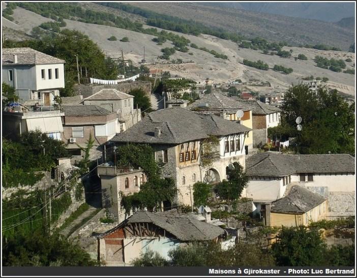 Gjirokaster maisons