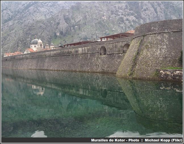 Murailles de Kotor