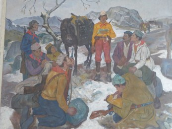Musée Gjirokaster tableau