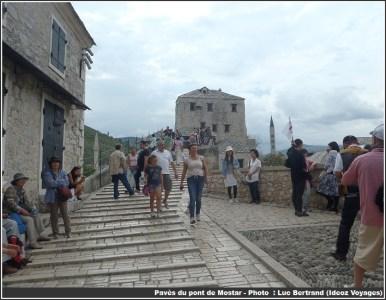 Pavés Pont de Mostar