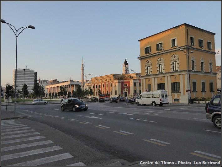 Tirana centre
