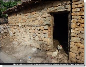 Lin batiments agricoles antiques