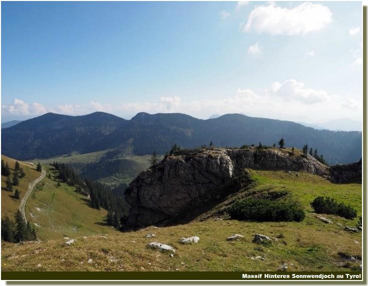 Paysage montagne prealpes bavaroises