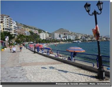 Saranda promenade