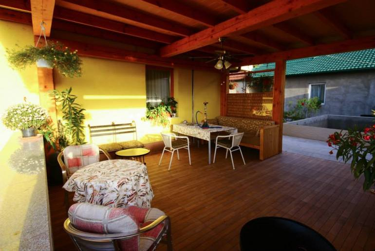 guest house Rose balcon